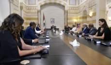 السفراء العرب بعد لقاء الحريري: سمعنا بأن لبنان سيطلب اجتماعا من الجامعة العربية لبحث الاعتداءات الاسرائيلية