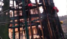 مجهولون أحرقوا شجرة الميلاد في سير الضنية