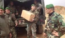 الجيش وزع حصصا غذائية قدمها تجار طرابلس للاسر المحتاجة في المدينة