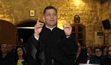 الأب مروان غانم لـ
