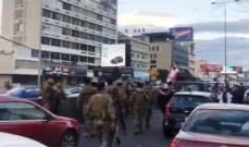 LBCI: إطلاق الشبان الذين تم توقيفهم صباحا على خلفية قطع أوتوستراد جل الديب