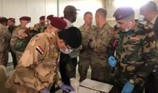 انسحاب التحالف الدولي من قاعدة K1 في كركوك