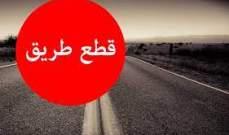 التحكم المروري: قطع السير على تقاطع الصّيفي في بيروت بالإتجاهين
