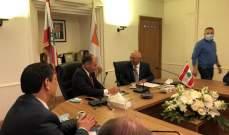 السفير التونسي من غرفة صيدا: تاريخنا المشترك يمكننا من تحويل الضعف بالميزان التجاري لقوة