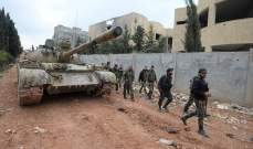"""مقتل عدد من مسلحي """"جبهة النصرة بنيران الجيش السوري بريف حماةالشمالي"""