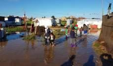 الامطار في عكار تسببت برفع منسوب نهري الكبير والاسطوان