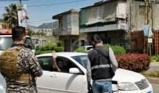 """""""النشرة"""": عناصر امن الدولة يوزعون الكمامات والقفازات على المواطنين"""