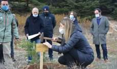 السفيرة الإيطالية زارت محمية أرز الشوف: سعيدون بالأعمال المنجزة