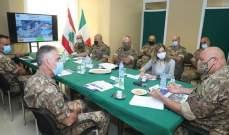 قائد الجيش يتفقد المستشفى الميداني الإيطالي في الجامعة اللبنانية - الحدث