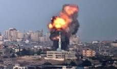 إصابة عدة فلسطينيين جراء غارات إسرائيلية على بلدة بيت حانون شمال غزة