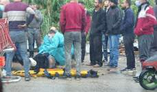النشرة: جريح بحادث صدم في الزهراني