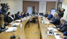 لجنة الإدارة والعدل استمعت لأسباب توقف الأعمال بالاوتوستراد المؤدي الى برج رحال