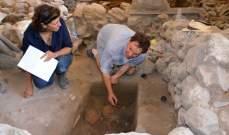 النشرة: اكتشاف مدفن اثري في صيدا لمحاربين من القرن 19 قبل الميلاد