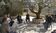 الحجار بحث مع وفد من متفرغي اللبنانية المنتهية خدماتهم بكيفية إلحاقهم بملاك الجامعة