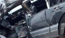 النشرة: قتيل نتيجة إصطدام سيارة بعامود انارة محلة المصنع