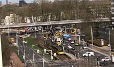 هيئة الإذاعة الهولندية: وحدة مكافحة الإرهاب تطوق مبنى تشتبه أن مطلق النار بداخله