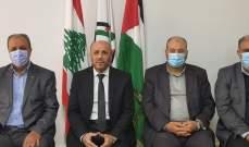 ممثل حماس في لبنان يمارس عمله بعد غياب أشهر بسبب إصابته بفيروس كورونا