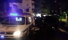 الدفاع المدني: جريح جراء حادث تصادم في طريق الجديدة