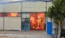 وسائل إعلام مصرية: حريق هائل بأحد مصانع الكرتون والخسائر اقتصرت على الماديات