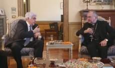 سفير لبنان في الفاتيكان أولم على شرف وزير الخارجية