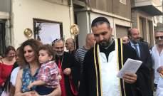 المطران سفر بقداس عيد السيدة: نسال الله ان يلهم المسؤولين العمل لخير لبنان