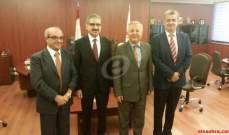 النشرة: فؤاد ايوب يتسلم رئاسة الجامعة اللبنانية من عدنان السيد حسين