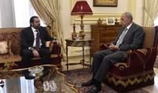 وصول الحريري الى عين التينة للقاء رئيس مجلس النواب نبيه بري