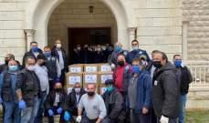 بلدية ميفوق والقطارة تسلمت حصصا غذائية من مؤسسة كهرباء جبيل لتوزيعها على أهالي البلدة