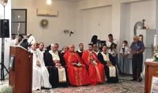 بلدة كفرنيس احتفت بالنائب البطريركي المنتخب المطران أنطوان عوكر