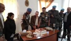 قائد الكتيبة الهندية باليونيفيل زار مركز الشؤون الإجتماعية في الهبارية