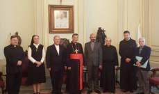 الراعي: نتمسك بالدستور وسنتعاون مع سفارة فرنسا للاحتفال بمئوية لبنان الكبير