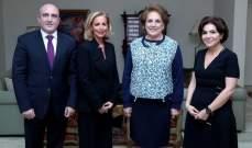 اللبنانية الاولى استقبلت لجنة مهرجانات ضبيه الدولية