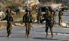 قوة من الجيش الاسرائيلي تعرضت لاطلاق نار عند مدخل مستوطنة حومش