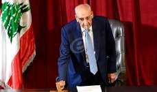 مصادر بري للشرق الأوسط:كل ما في لبنان ثابت لا يتحرك فتفضلوا إلى الدولة المدنية