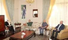 الحريري التقت محافظ الجنوب وقائد منطقة الجنوب في قوى الامن ورئيس بلدية صيدا