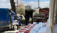 ضبط 4 شاحنات محملة بخضار مهربّة في شتورا