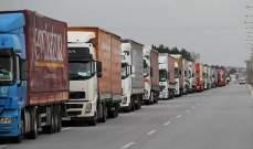 الأناضول: 50 شاحنة أممية محملة بمساعدات إنسانية عبرت تركيا باتجاه إدلب