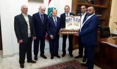 أبو زيد يبشّر اصحاب مقالع حجر الزينة في جزين بنيل موافقات على مزاولة اعمالهم