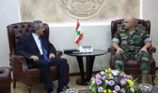 قائد الجيش بحث وفوكايدس التعاون مع الجيش القبرصي واستقبل الخطيب ونوابا
