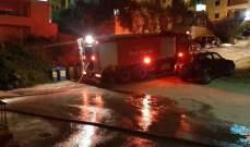 الدفاع المدني: حريق داخل شقة في زوق مصبح