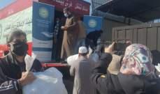 هيئة الإغاثة التابعة لدار الفتوى وزعت حصصا غذائية على المحتاجين بطرابلس