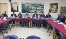 لقاء الاحزاب: السلم الاهلي خط أحمر ومنطق الغيتو في لبنان سقط الى غير رجعة