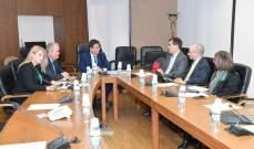 كنعان وجابر يلتقيان وفد صندوق النقد الدولي في هذه الأثناء