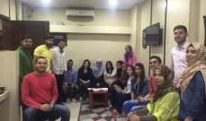 حركة امل تقيم ورشة تدريبية لطلاب كلية الاعلام في مبنى اذاعة الرسالة
