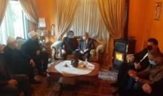مشرفية جال في حاصبيا: لا بد من تشكيل حكومة إنقاذ وطنية قبل فوات الأوان