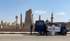 """الأمن المصري كشف على """"جسم غريب"""" بمحكمة بالجيزة بعد إخلائها"""