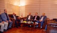 المدير العام لامن الدولة استقبل وفدا من حركة حماس