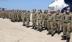 قوات تركية تصل أذربيجان عقب تحذير أنقرة لأرمينيا من تحرك عسكري