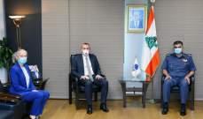 اللواء عثمان استقبل السفير البريطاني وعرض معه الأوضاع العامة