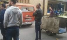 النشرة: إقفال شارع بستان القدس بمخيم عين الحلوة احتجاجا على الاشكال الذي وقع صباحا